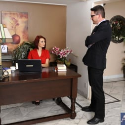 Jessica Robbin in 'Naughty America' and Aaron Wilcoxxx in Naughty Office (Thumbnail 1)