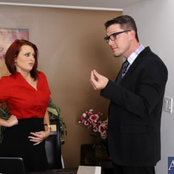 Jessica Robbin in 'Naughty America' and Aaron Wilcoxxx in Naughty Office (Thumbnail 2)
