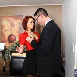 Jessica Robbin in 'Naughty America' and Aaron Wilcoxxx in Naughty Office (Thumbnail 3)