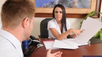 J Love in 'and Levi Cash in Naughty Office'