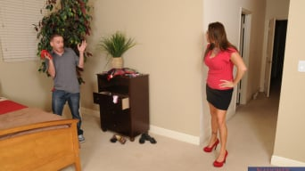 Stacie Starr in 'and Tony Rubino in My Friends Hot Mom'