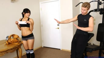 Gia Steel in 'and Michael Vegas in Naughty Athletics'