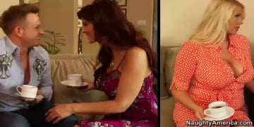 Syren De Mer, Karen Fisher and Bill Bailey in My Friends Hot Mom