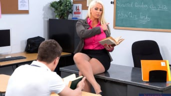 Alura Jenson in 'and Bruce Venture in My First Sex Teacher'
