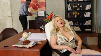 Sarah Vandella in 'and Johnny Castle in Naughty Office'