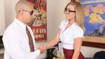 Kennedy Leigh in 'and Bruno Dickemz in Naughty Office'