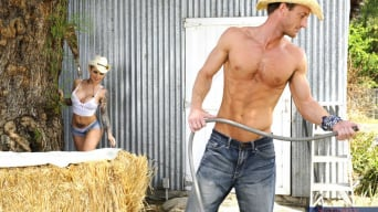 Christy Mack В 'and Ryan Mclane in Naughty Country Girls'