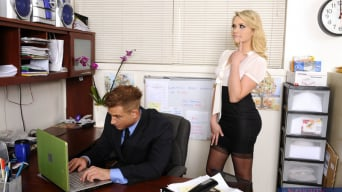 Mia Malkova in 'and Bill Bailey in Naughty Office'