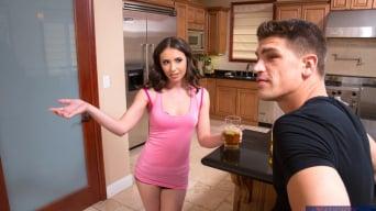 Casey Calvert in 'and Bruce Venture in Neighbor Affair'