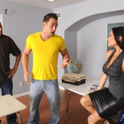 Vanilla DeVille in 'Naughty America' and Johnny Castle in My First Sex Teacher (Thumbnail 1)