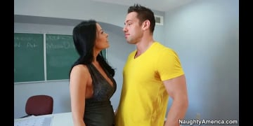 Vanilla DeVille and Johnny Castle in My First Sex Teacher