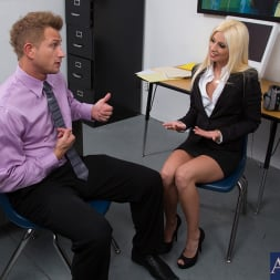 Jessie Volt in 'Naughty America' and Bill Bailey in Naughty Office (Thumbnail 1)