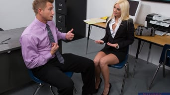 Jessie Volt in 'and Bill Bailey in Naughty Office'
