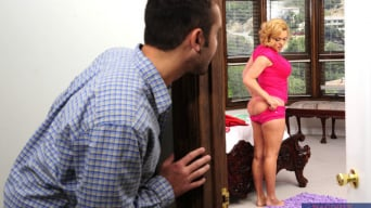 Krissy Lynn in 'and Daniel Hunter in My Dad's Hot Girlfriend'