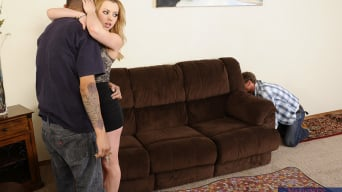Lexi Belle in 'and Ryan McLane in Neighbor Affair'