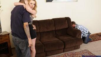 Lexi Belle in 'and Ryan McLane in Neighbor Affair'