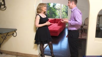 Nina Hartley in 'and Danny Wylde in Seduced by a cougar'