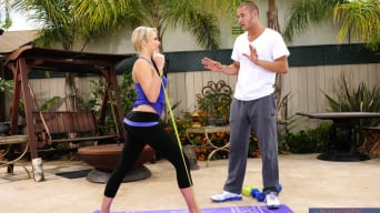 Mia Malkova in 'and Danny Mountain in Naughty Athletics'