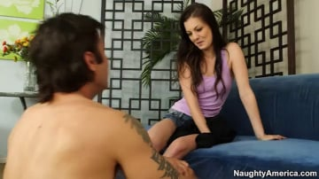Alexis Venton and Alan Stafford in My Sisters Hot Friend