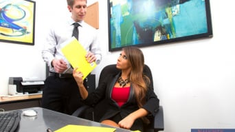 Madison Ivy in 'and Danny Wylde in Naughty Office'