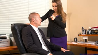 Dani Daniels in 'and Danny Mountain in Naughty Office'