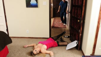 Abbey Brooks in 'and Michael Vegas in My Dad's Hot Girlfriend'
