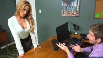 Capri Cavanni in 'and Danny Wylde in Naughty Office'