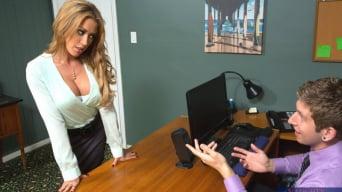 Capri Cavanni In 'and Danny Wylde in Naughty Office'