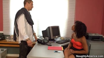 Misty Stone and Xander Corvus in Naughty Office