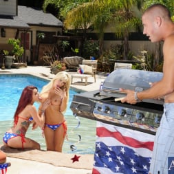 Monique Alexander in 'Naughty America' Monique Alexander, Tasha Reign and Danny Mountain in 2 Chicks Same Time (Thumbnail 2)