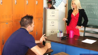 Helly Hellfire in ' and Johnny Castle in My First Sex Teacher'