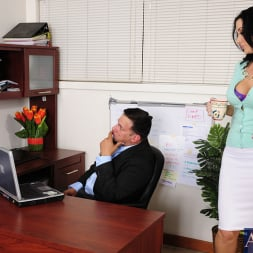 Jayden Jaymes in 'Naughty America' and Anthony Rosano in Naughty Office (Thumbnail 1)