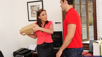 Diamond Foxxx in 'and Ryan Driller in My First Sex Teacher'