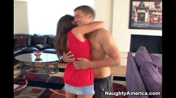 Michelle Lay and Chris Johnson in My Friends Hot Mom