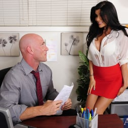 Romi Rain in 'Naughty America' and Johnny Sins in Naughty Office (Thumbnail 1)
