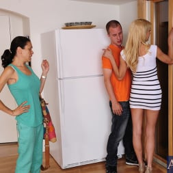 Mikki Lynn in 'Naughty America'  and Jessy Jones  in Seduced by a cougar (Thumbnail 1)