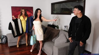 Richelle Ryan in 'Richelle Ryan, Veronica Avluv and Anthony Rosano in 2 Chicks Same Time'