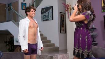 Raylene in 'and Tyler Nixon in My Friends Hot Mom'