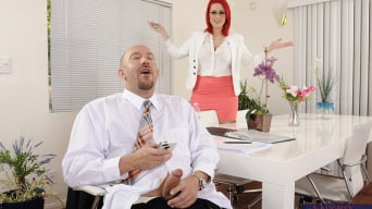 Siri in 'and Will Powers in Naughty Office'