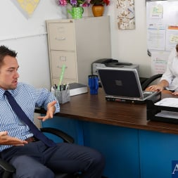 Lily Love in 'Naughty America' and Johnny Castle in Naughty Office (Thumbnail 1)