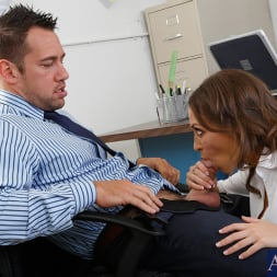 Lily Love in 'Naughty America' and Johnny Castle in Naughty Office (Thumbnail 3)