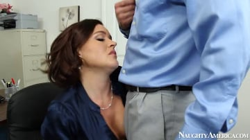 Krissy Lynn and Bill Bailey in Naughty Office