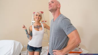 Kleio Valentien in 'and Johnny Sins in I Have a Wife'