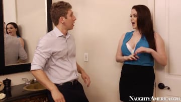 Tessa Lane and Danny Wylde in Naughty Office