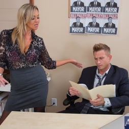 Abbey Brooks in 'Naughty America' and Bill Bailey in Naughty Office (Thumbnail 3)