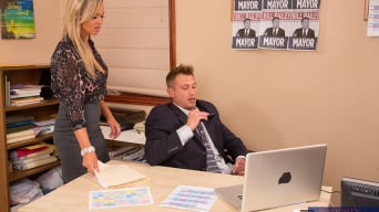 Abbey Brooks in 'and Bill Bailey in Naughty Office'