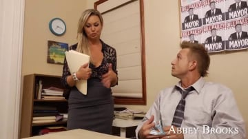 Abbey Brooks and Bill Bailey in Naughty Office