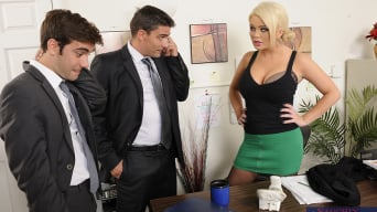 Alexis Ford in 'Alexis Ford, Logan Pierce and Toni Ribas in Naughty Office'