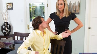 Brandi Love in 'and Tyler Nixon in Seduced by a cougar'