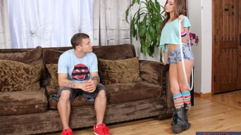 Remy LaCroix in 'and Mr. Pete in My Dad's Hot Girlfriend'